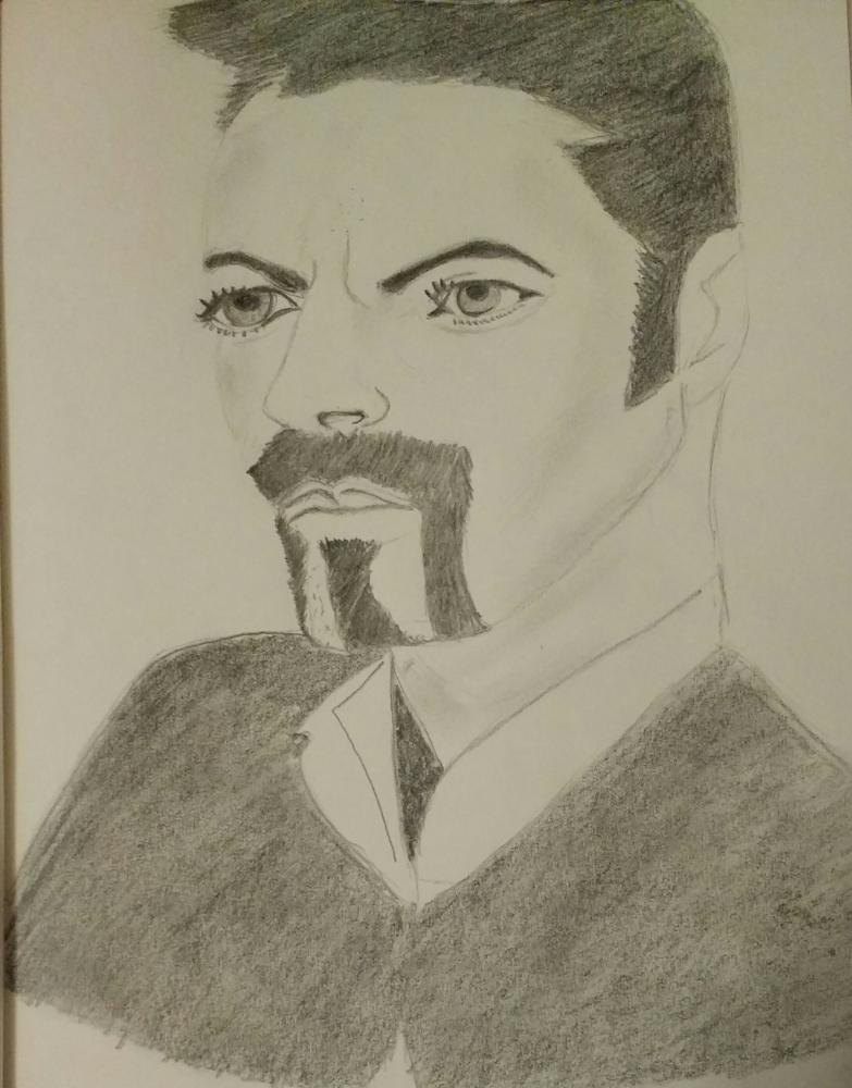 George Michael por Lisaram1983